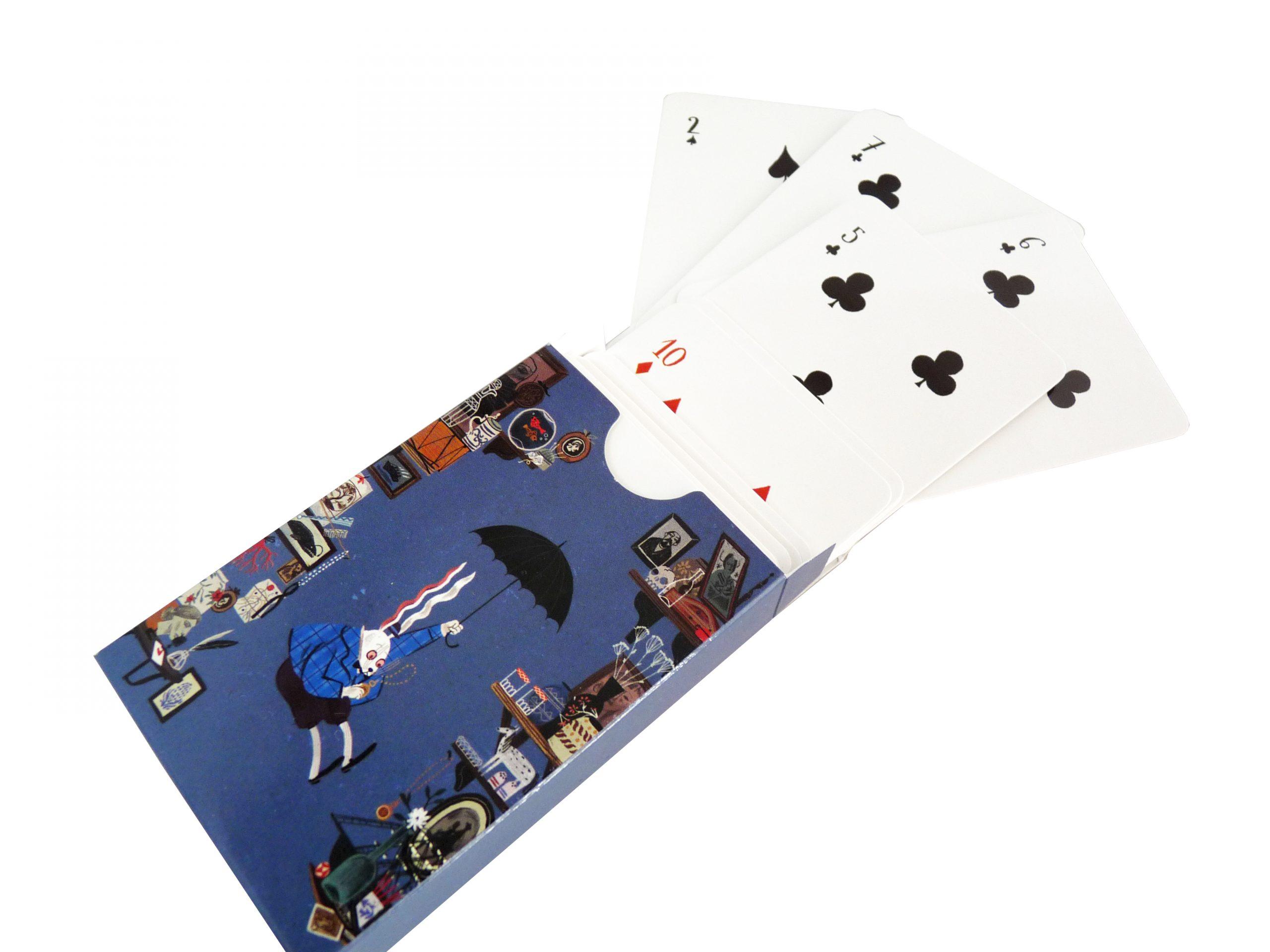 baraja de cartas y caja - Baraja cartas