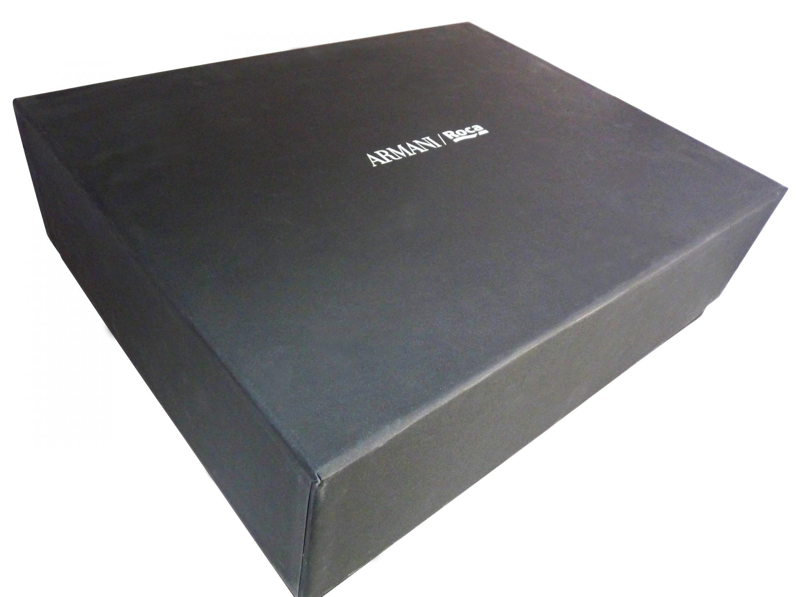 caja forrada - Caja Armani Roca
