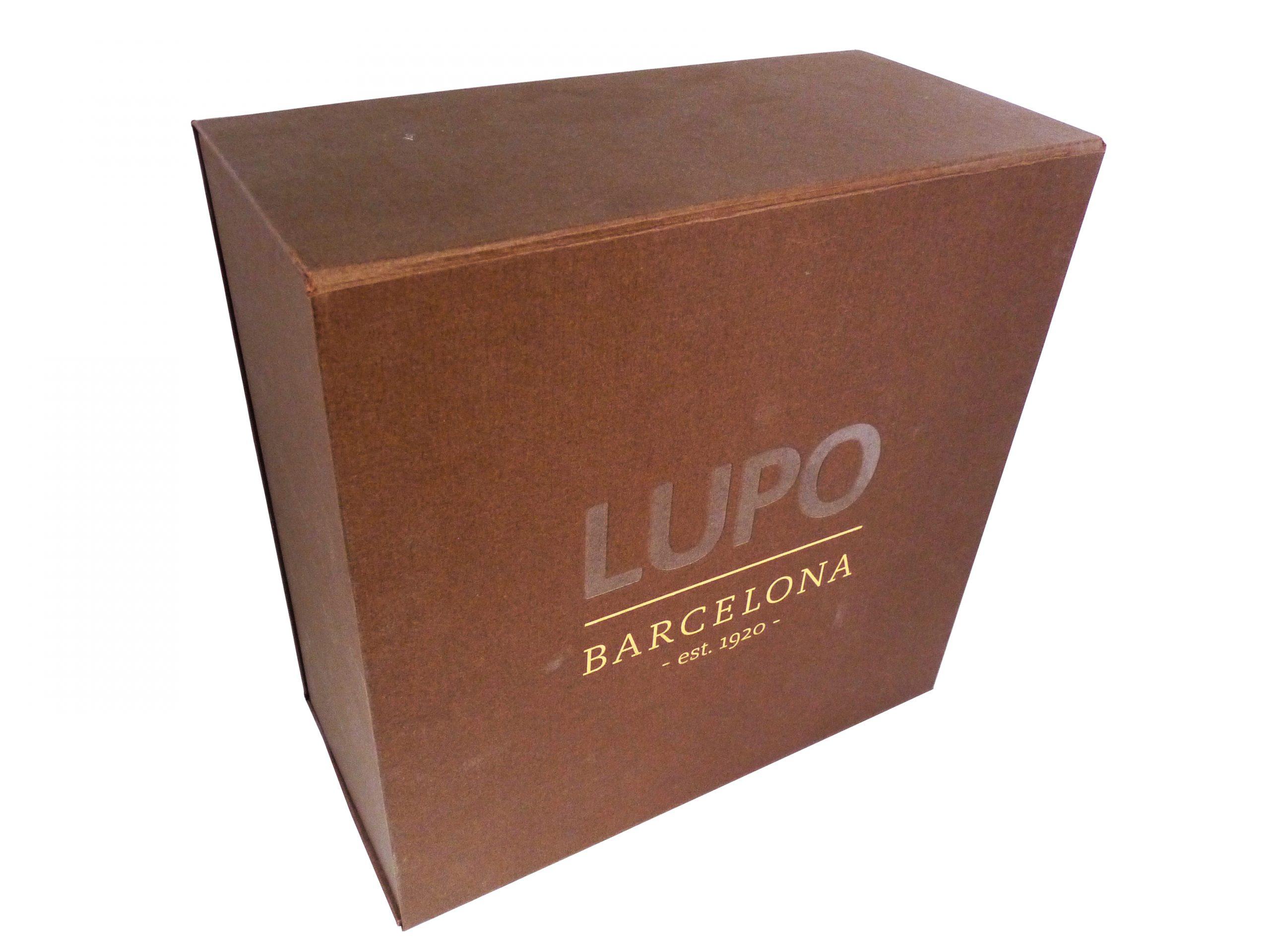 caja forrada - Caja Lupo