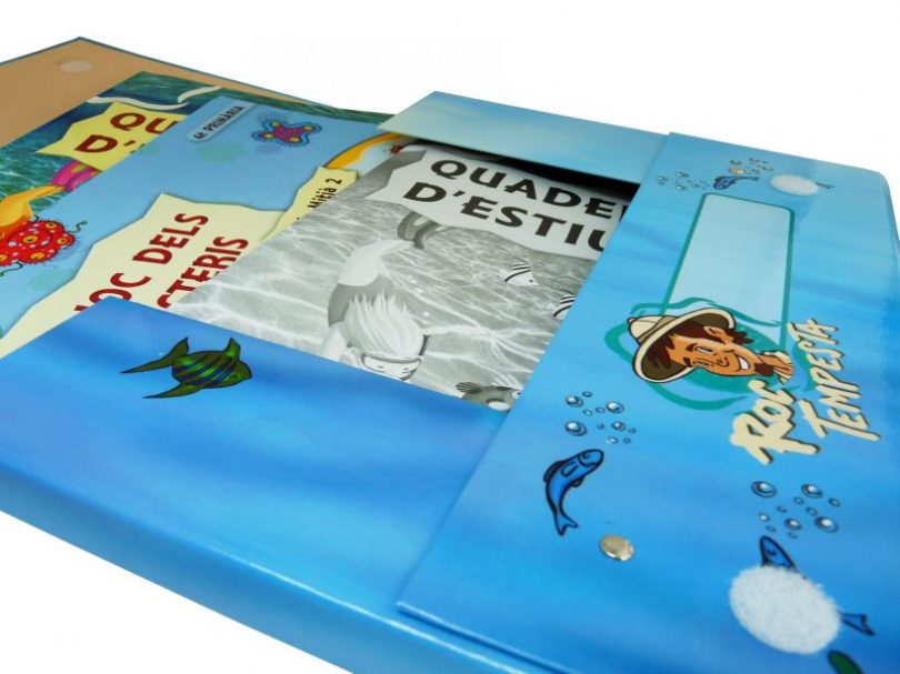 set educativo de papel y carton - Carpeta Rellena 2