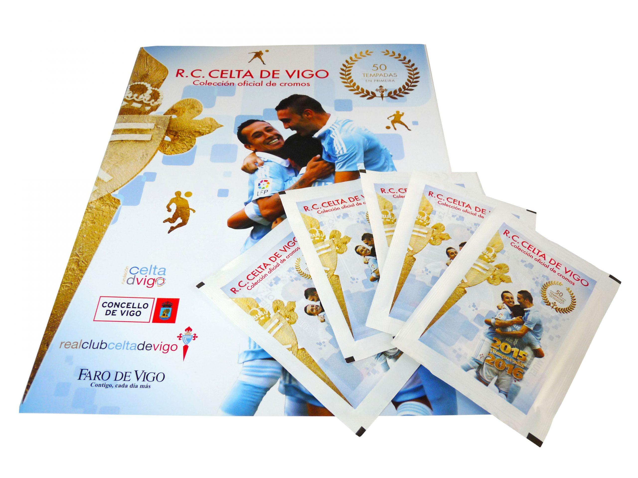 coleccion de cromos deportiva - Celta Vigo 3