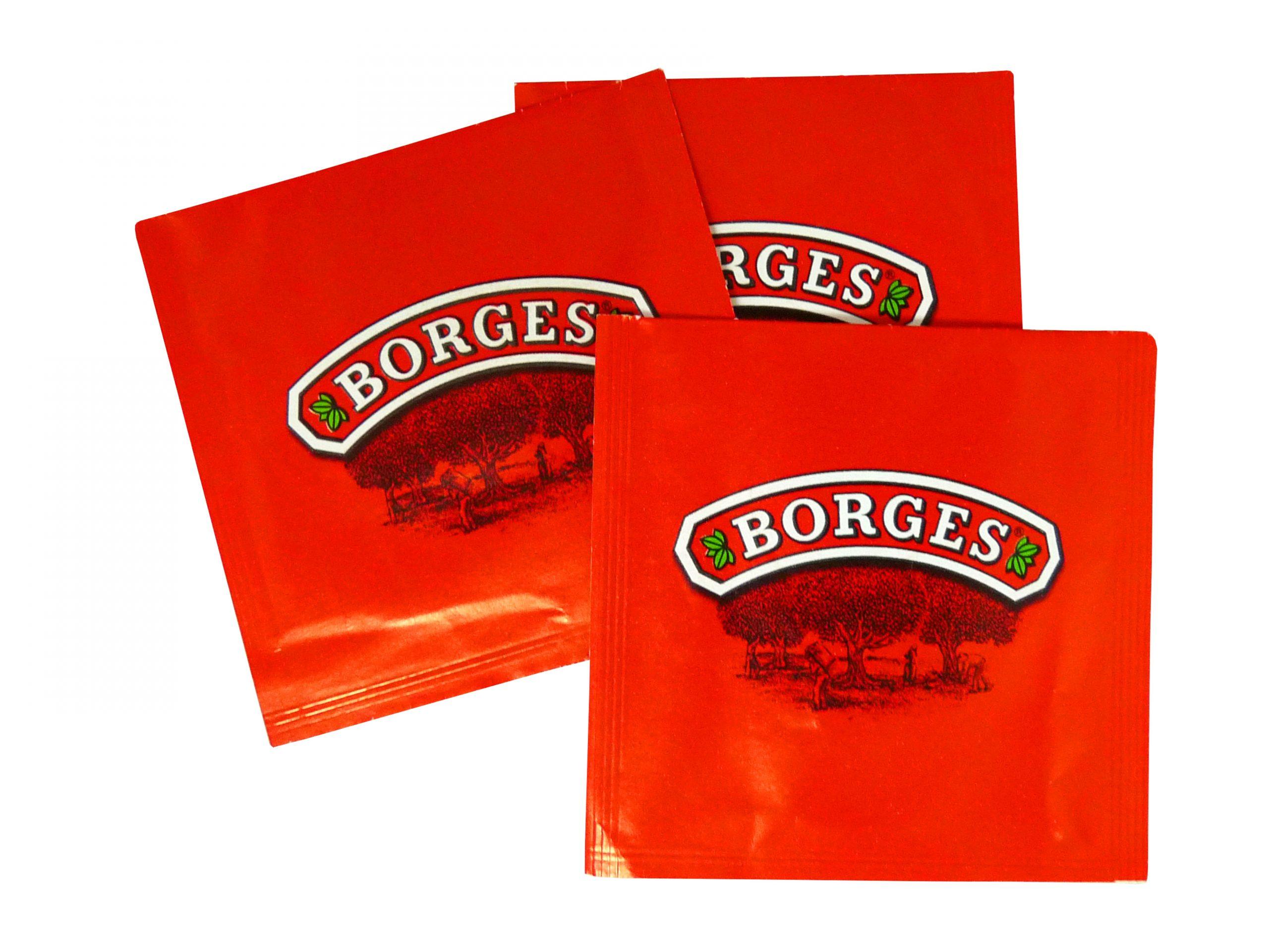 ensobrado de 3 soldaduras - Flow pack Borges