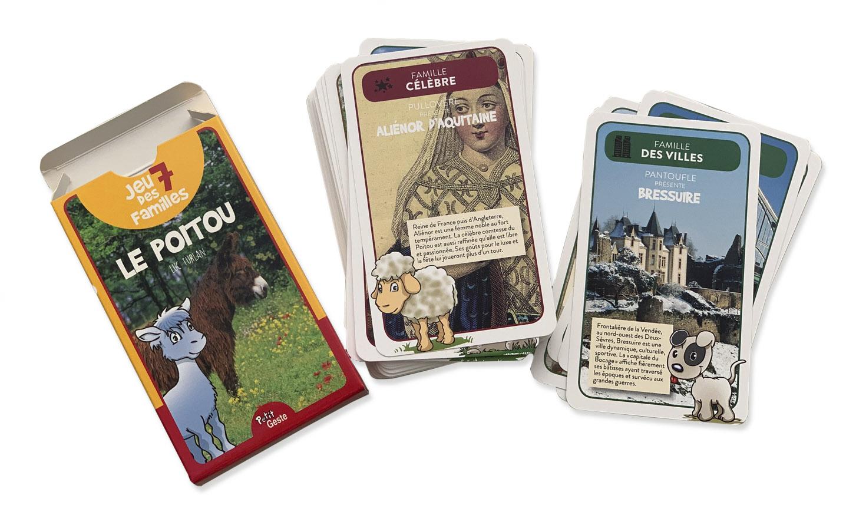 barajas de cartas con canto romo y caja
