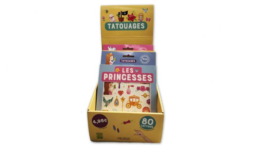 caja de tatuajes temporales para niños - caja de tatuajes temporales para niños