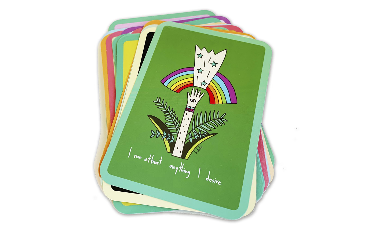 baraja de cartas con canto romo