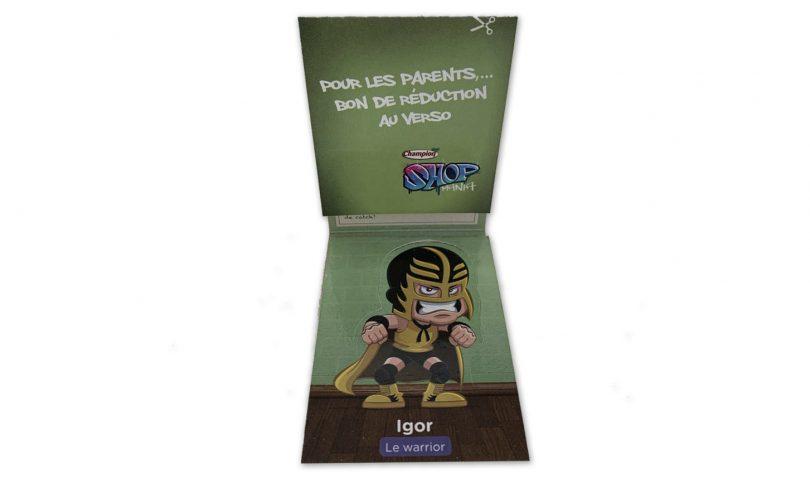 figura pop-up de carton - figura pop-up de carton