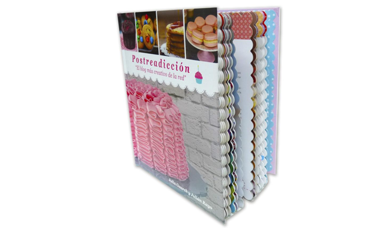 libro de carton con acabado especial - Libro Repostería