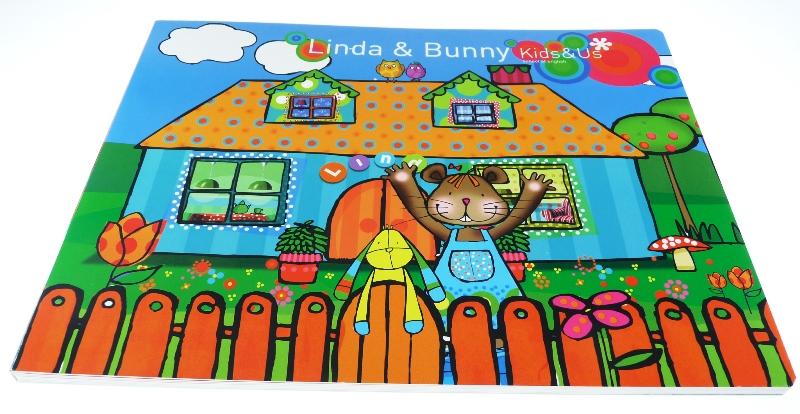 libro de cartón con ventanas - Linda _ Bunny