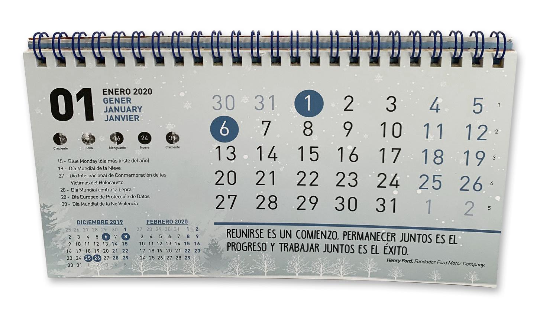 calendario - PRINCIPAL