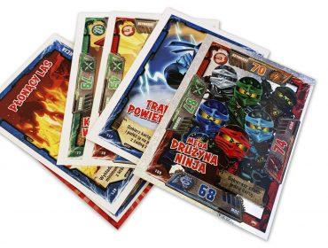 lego trading cards con efecto especial
