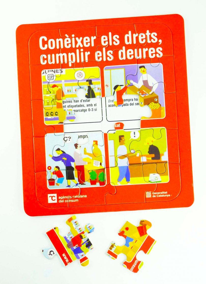 puzle promocional - puzle promocional