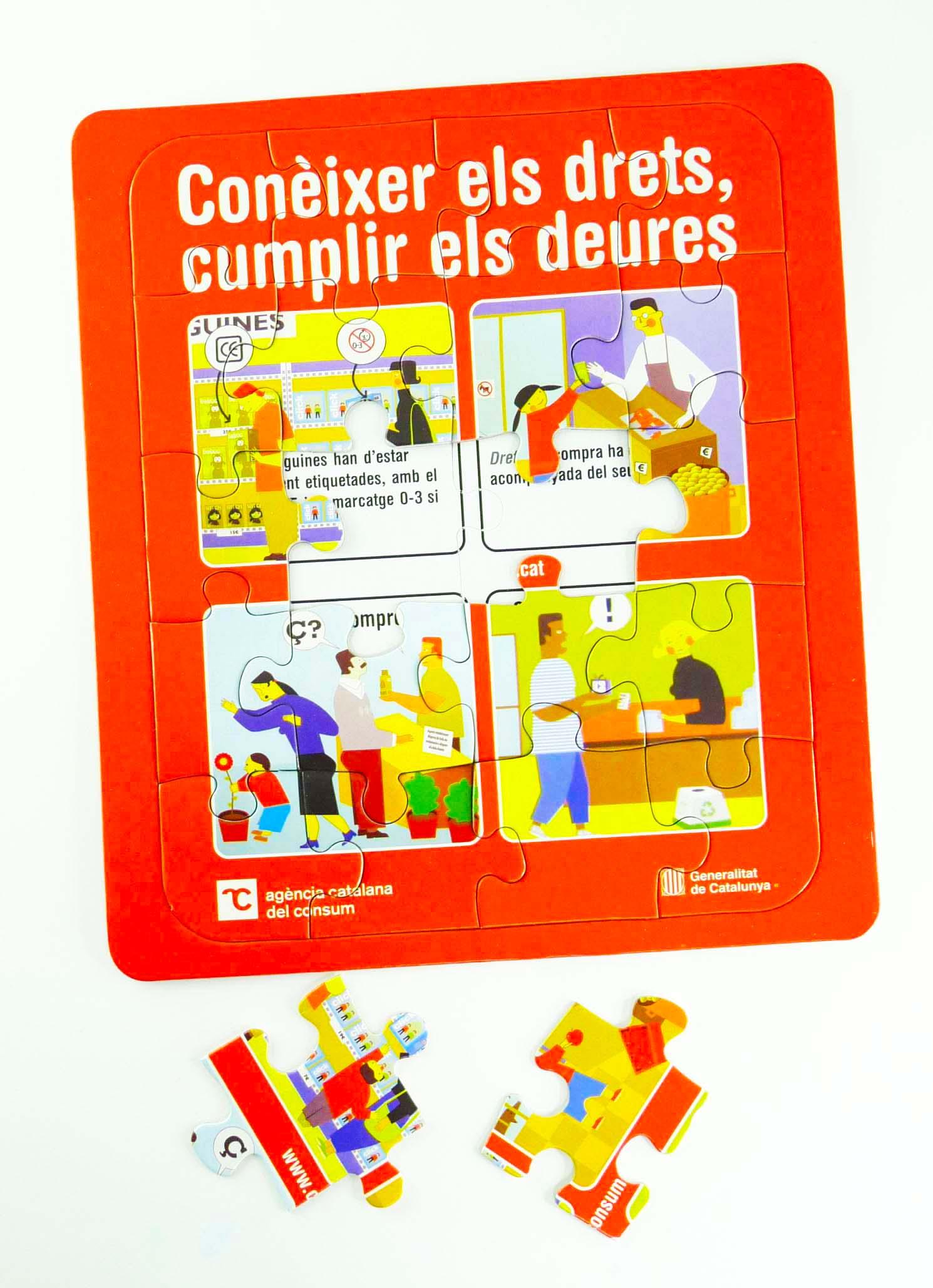 puzle promocional - Puzzle Agencia