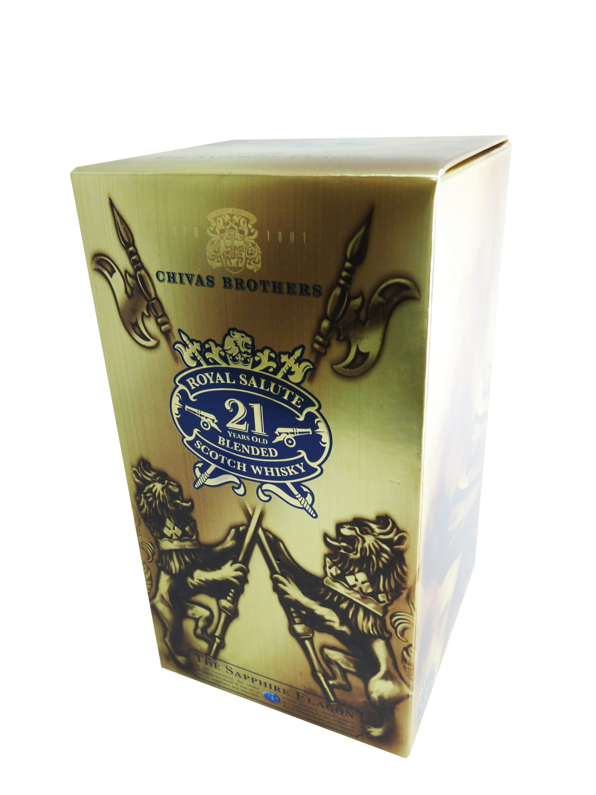 packaging promocional - chivas