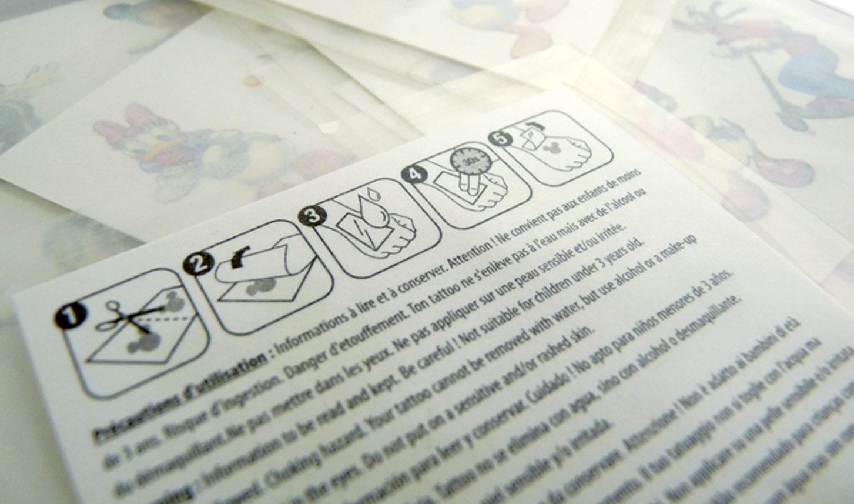 tatuajes temporales para niños - dors tattoos
