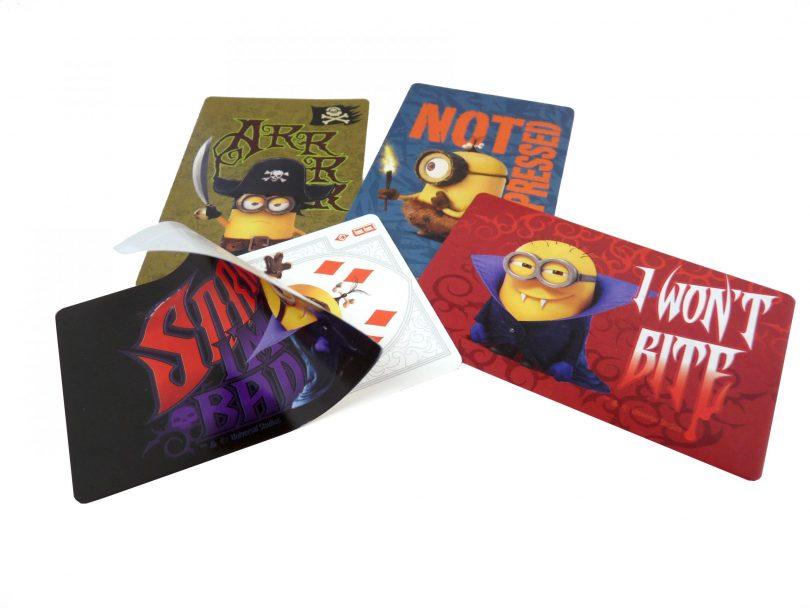 sticker card con canto romo - stickercards