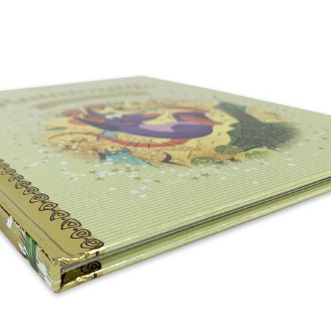 libro encuadernado en rústica cosida